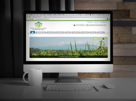 samui property centre web design