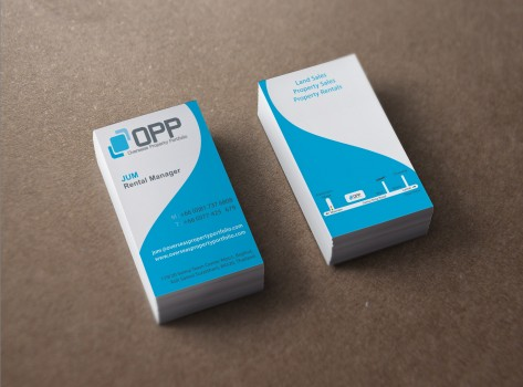 Business card designed by glypt - OPP