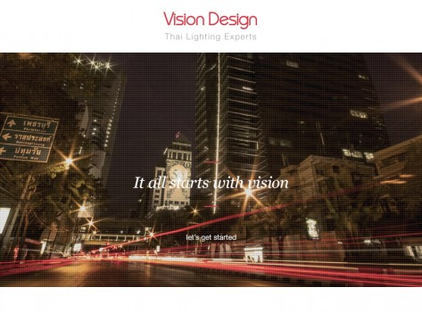 Website Portfolio - Vision Lighting Design