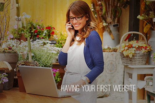 Having Your First Website